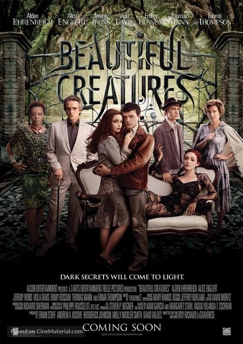 Beautiful Creatures - British Movie Poster