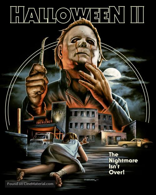 Halloween II - Blu-Ray movie cover