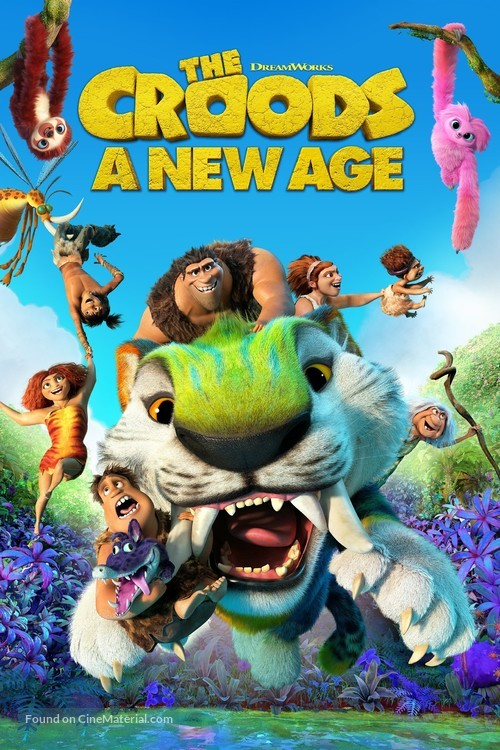 The Croods: A New Age - Video on demand movie cover
