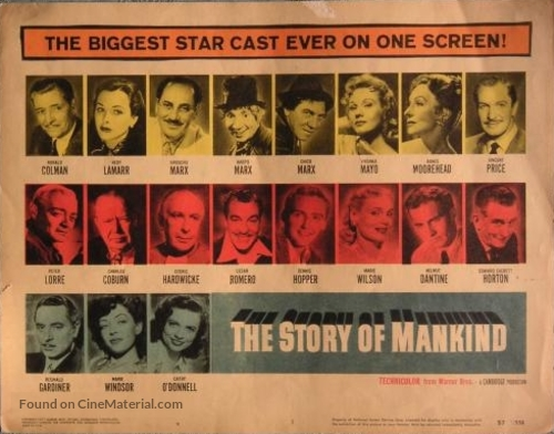 The Story of Mankind - poster