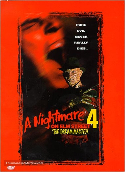 A Nightmare on Elm Street 4: The Dream Master - DVD movie cover