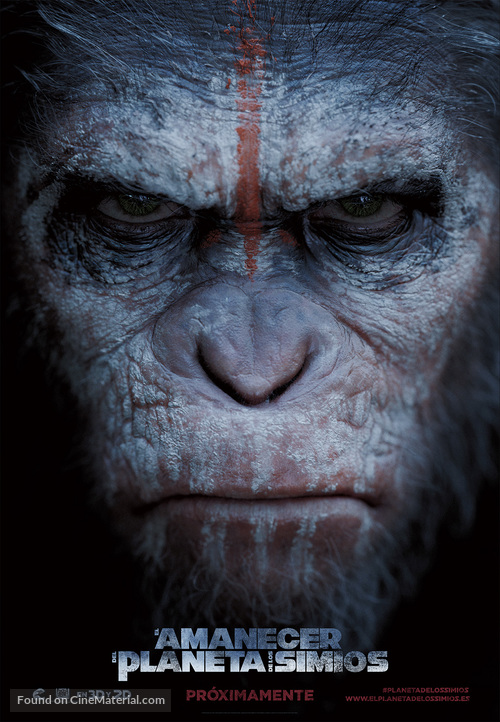 Dawn of the Planet of the Apes - Spanish Movie Poster