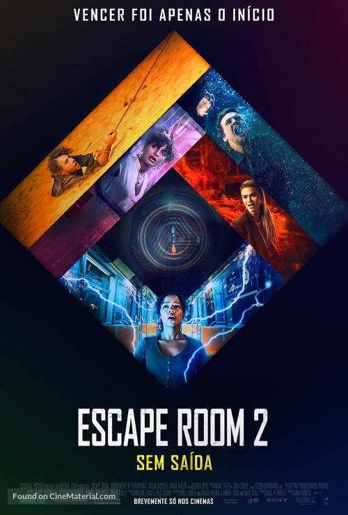 Escape Room: Tournament of Champions - Portuguese Movie Poster