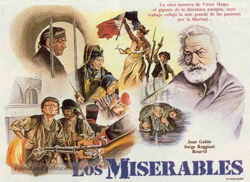 Les Misérables - Spanish Movie Poster