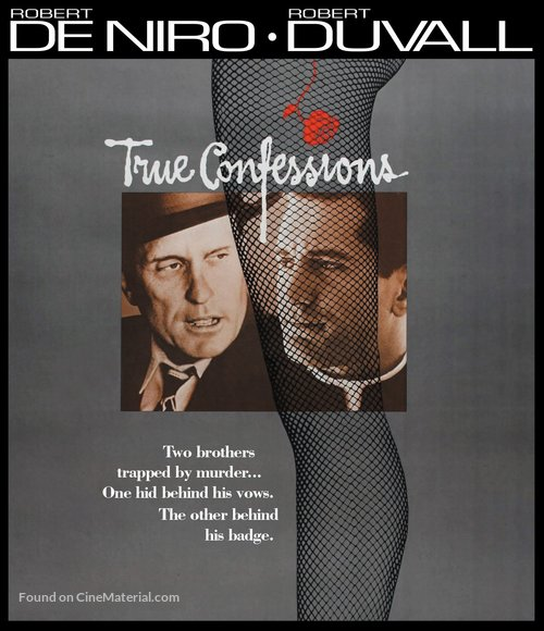 True Confessions - Blu-Ray movie cover