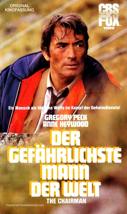 The Chairman - German VHS movie cover