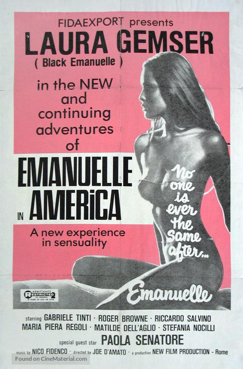 Emanuelle In America - Movie Poster