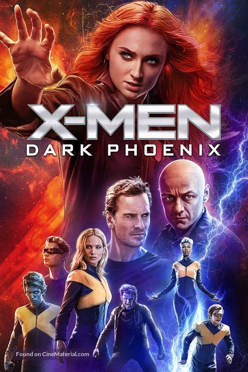 Dark Phoenix - Movie Cover