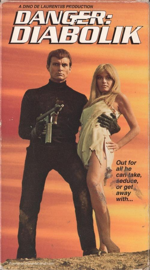 Diabolik - VHS movie cover