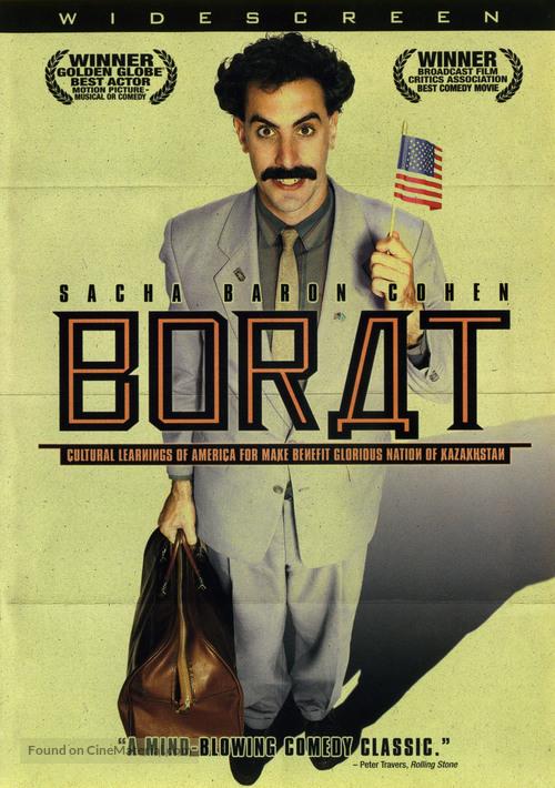 Borat: Cultural Learnings of America for Make Benefit Glorious Nation of Kazakhstan - poster