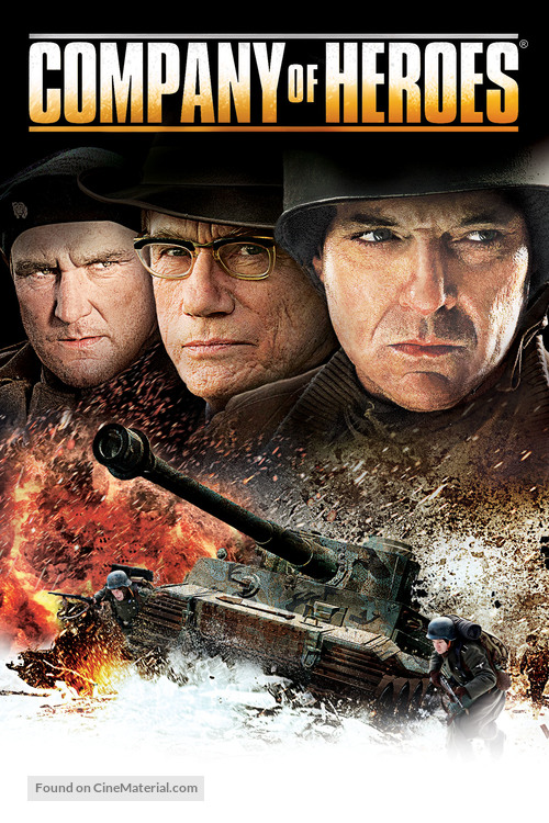 Company Of Heroes 2013 Dvd Movie Cover