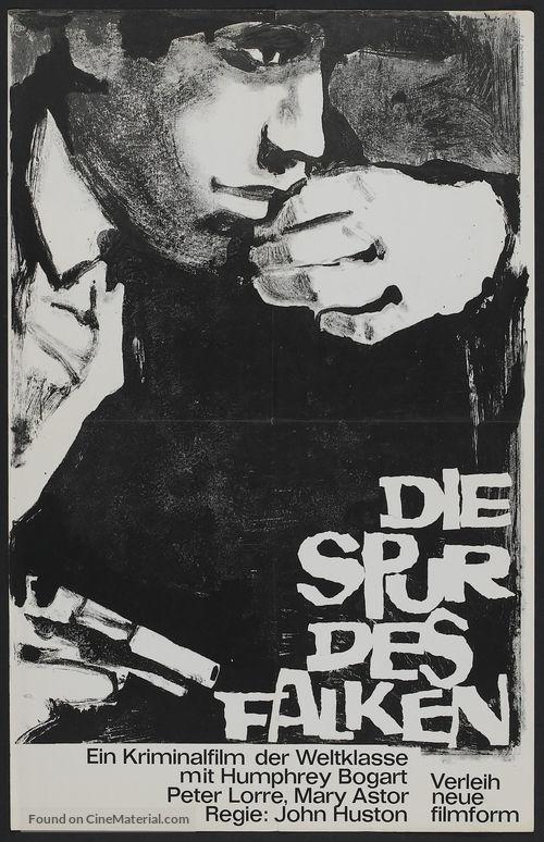 The Maltese Falcon - German Movie Poster
