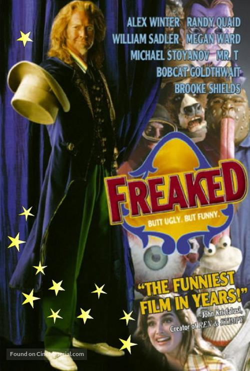 Freaked - DVD movie cover