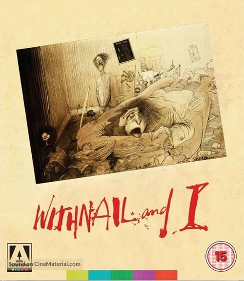 Withnail & I - British Blu-Ray movie cover