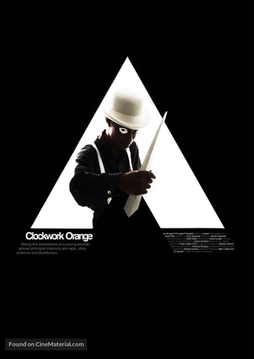 A Clockwork Orange - Homage movie poster