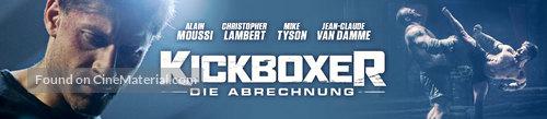 Kickboxer: Retaliation - German poster