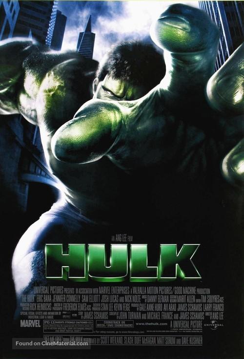 Hulk - Movie Poster