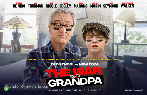 The War with Grandpa - Singaporean Movie Poster