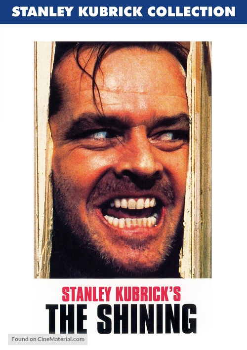 The Shining - DVD movie cover