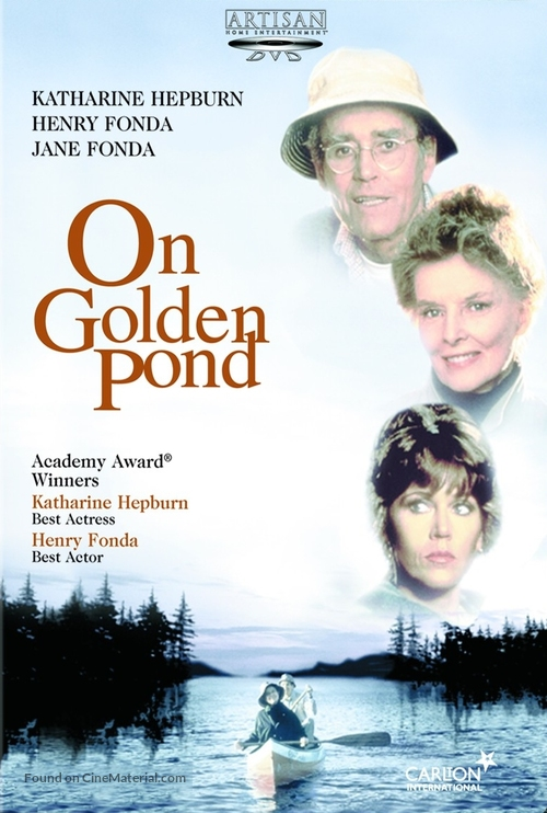 On Golden Pond - DVD movie cover