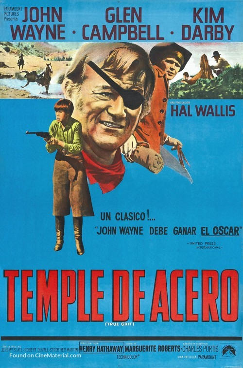 True Grit - Argentinian Movie Poster