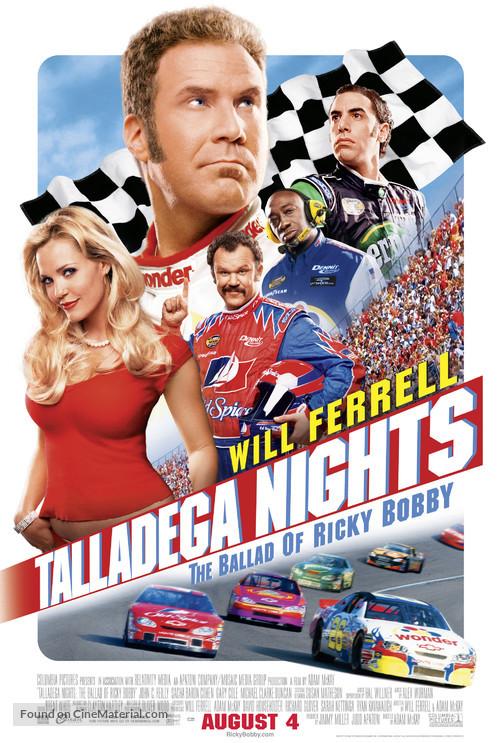 Talladega Nights: The Ballad of Ricky Bobby - Movie Poster