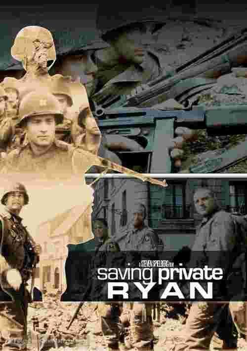 Saving Private Ryan - Swedish Movie Cover