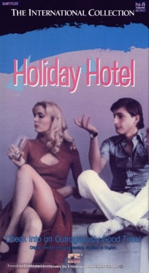 L'hôtel de la plage - VHS movie cover