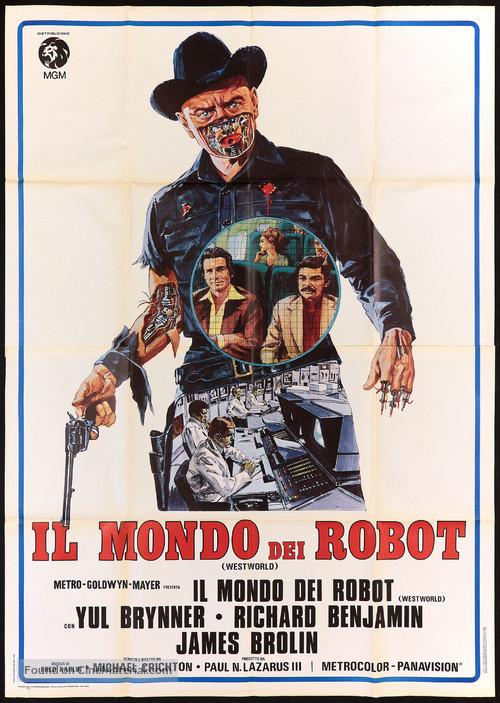Westworld - Italian Movie Poster