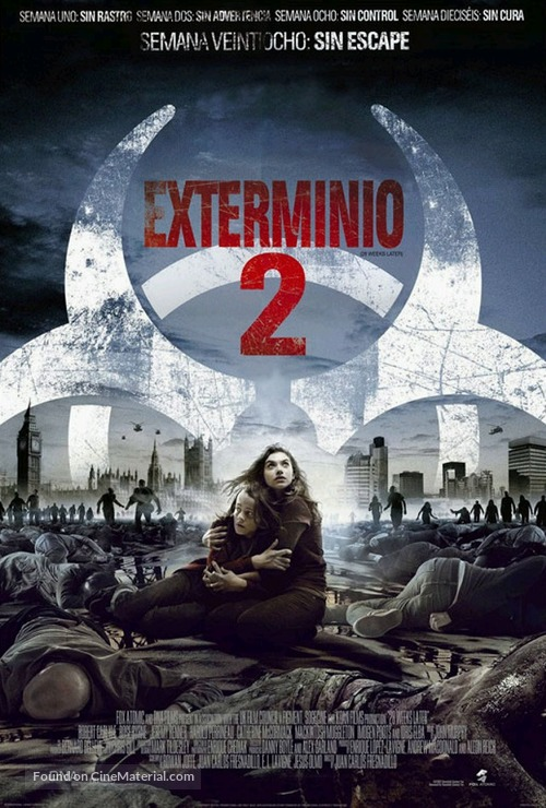 28 Weeks Later - Mexican Theatrical movie poster