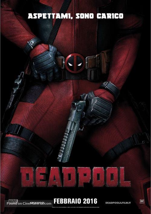 Deadpool - Italian Movie Poster