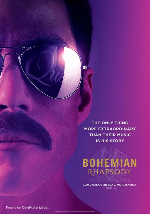 Bohemian Rhapsody - Finnish Movie Poster