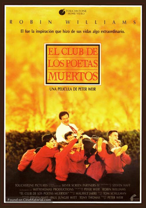 Dead Poets Society - Spanish Movie Poster
