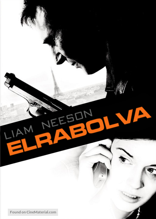 Taken - Hungarian Movie Cover