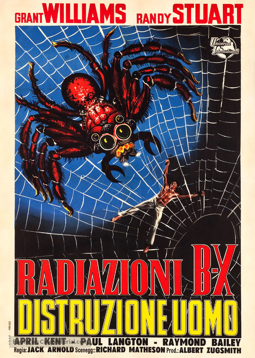 The Incredible Shrinking Man - Italian Movie Poster