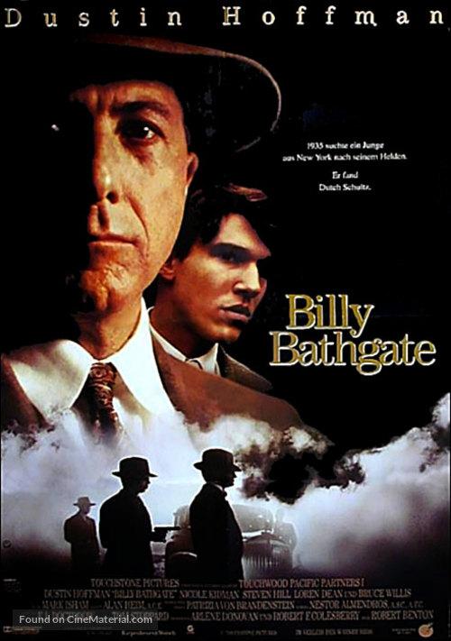 Billy Bathgate - German Movie Poster