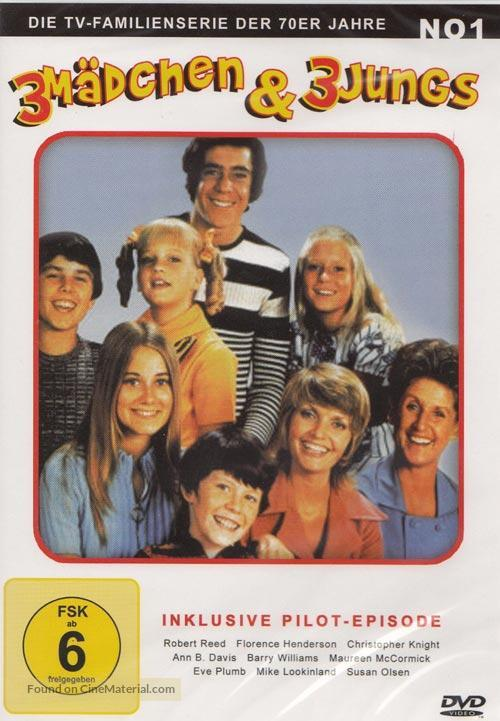 """The Brady Bunch"" - German DVD cover"