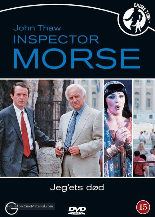"""Inspector Morse"" - Danish DVD movie cover"