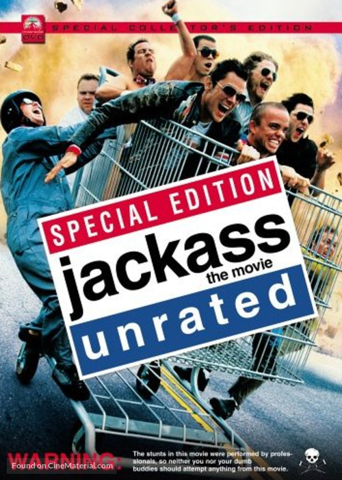 Jackass: The Movie - Movie Cover