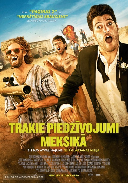 Search Party - Latvian Movie Poster