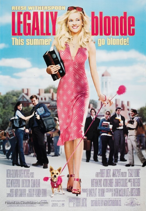 Legally Blonde - Movie Poster