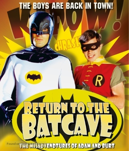 Return to the Batcave: The Misadventures of Adam and Burt - Blu-Ray movie cover
