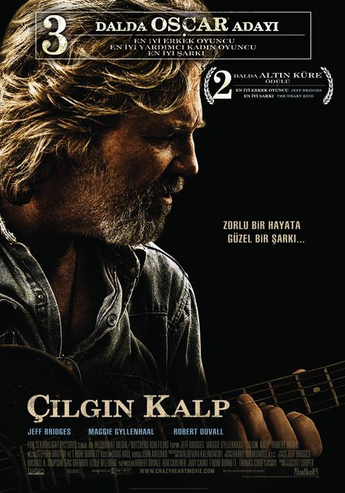 Crazy Heart - Turkish Movie Poster
