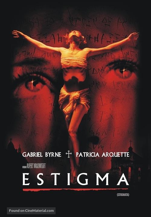 Stigmata - Argentinian DVD movie cover