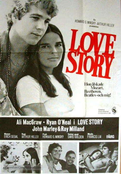 love story swedish movie poster