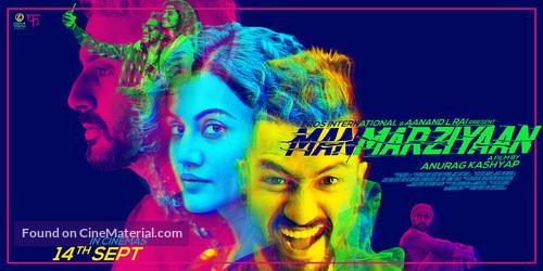 Manmarziyaan - Indian Movie Poster