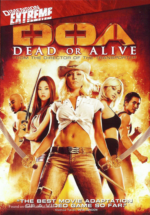 Dead Or Alive - DVD cover