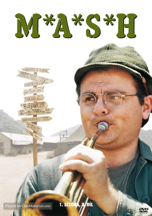 """""""M*A*S*H"""" - Czech Movie Cover"""