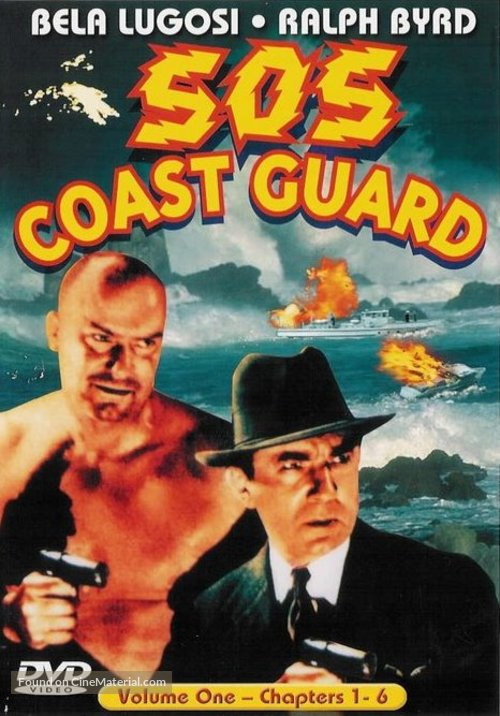 S.O.S. Coast Guard - DVD cover