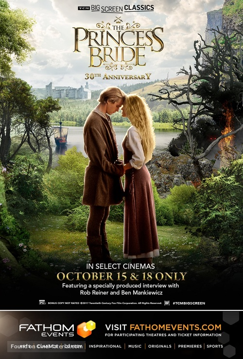 The Princess Bride - Re-release movie poster